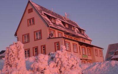 Silvester auf dem Großen Inselsberg