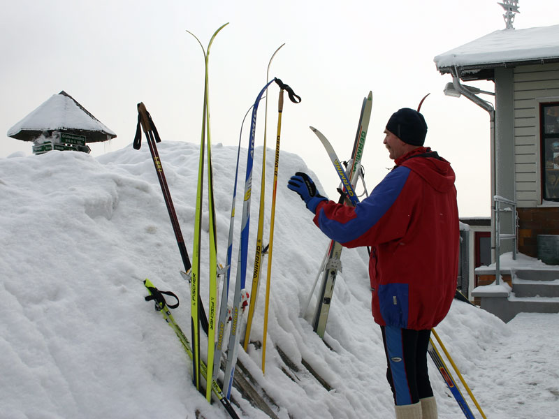 Schneelandschaften auf dem Inselsberg