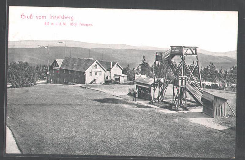 Inselsberg 1900