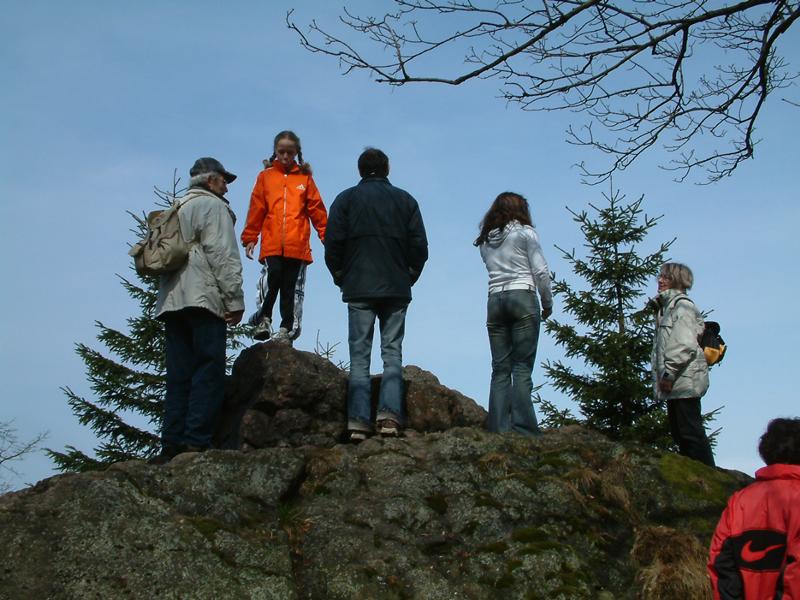 Inselsberg Aussicht
