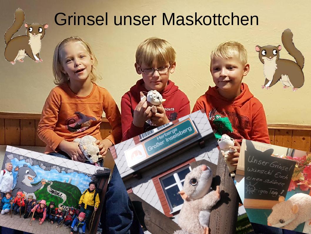 Grinsel-unser-Maskottchen